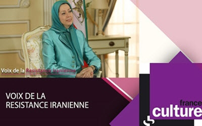 Radio France Culture interviewt Frau Rajavi