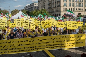 Iran-Demo in Berlin
